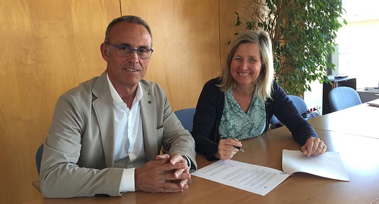 La AFEB firma un acuerdo de colaboración con Industry Tools by Ferroforma