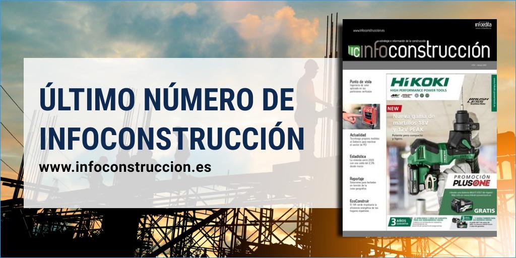 Disponible el último número de Infoconstrucción en nuestro kiosco online