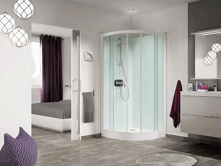 Grandform lanza una nueva línea de cabinas de ducha