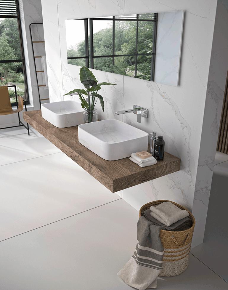 Silestone lanza un nuevo lavabo sobre encimera