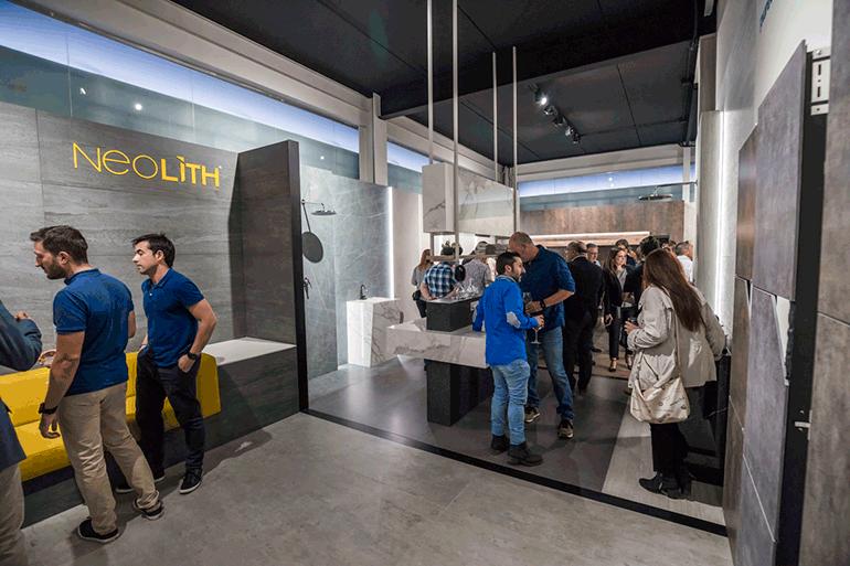 Inauguración del nuevo almacén Neolith Alicante