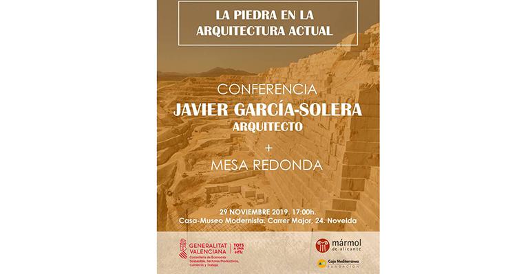 """Conferencia de """"La Piedra en la Arquitectura Actual"""""""