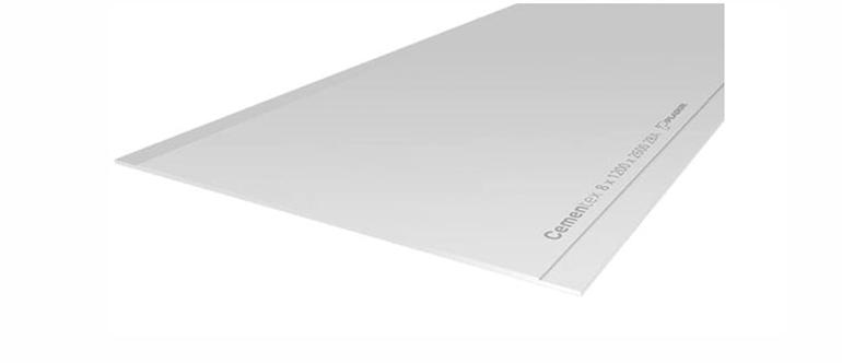 Placas de cemento con gran resistencia a la humedad
