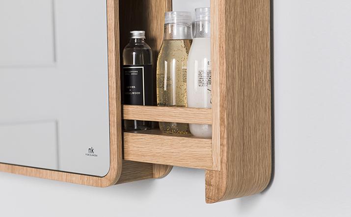 Mueble para el ba o n rdico contempor neo y gran capacidad - Espejo nordico ...