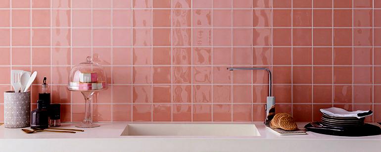 Revestimientos a todo color para griferías de baño y cocina
