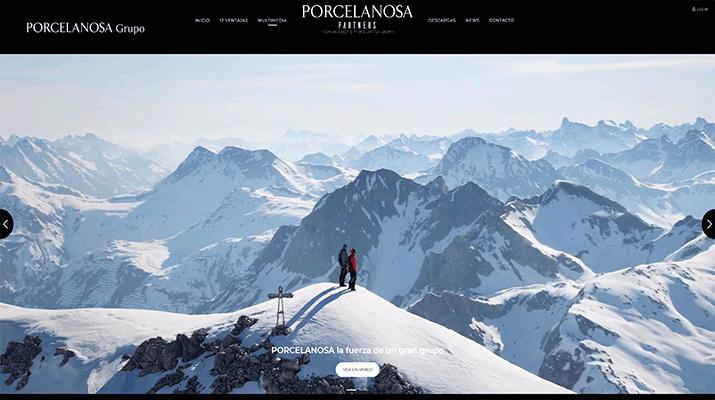 Porcelanosa Partners lanza su página web dedicada al promotor inmobiliario