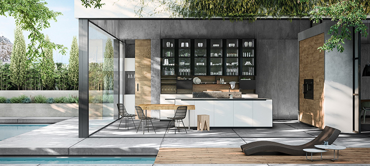 Colección de cocina que combina elementos nobles