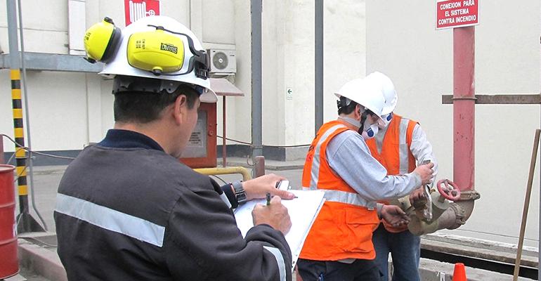 revisión instalaciones contra el fuego