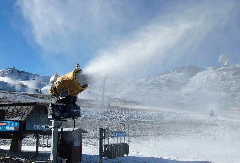Saint-Gobain Pam en la renovación de la red de nieve en la estación de Sierra Nevada