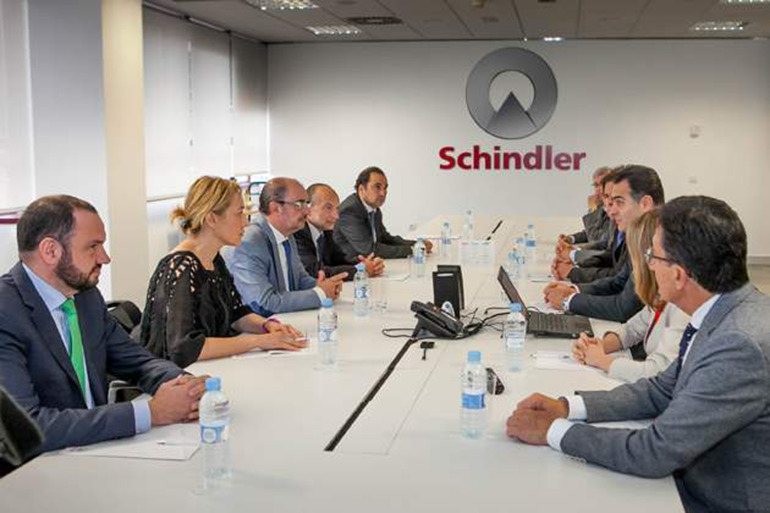 Schindler continúa creciendo y mejora sus resultados anuales en 2018