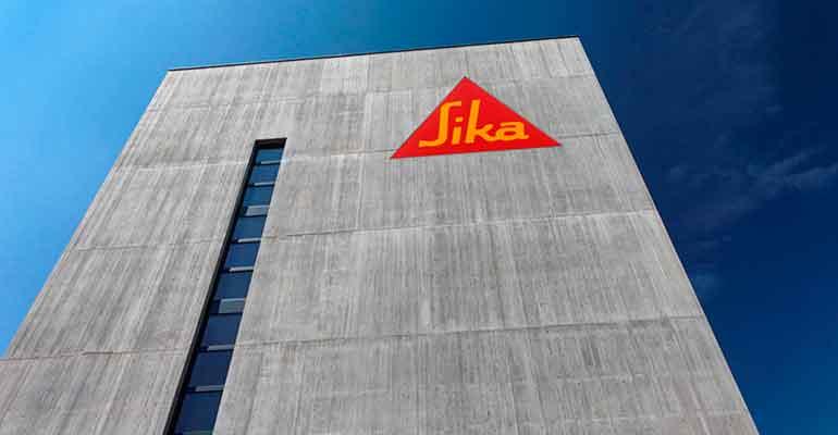 Sika aumenta sus ventas un 3,4% en 2020