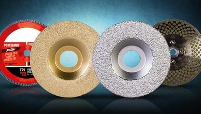 Discos de corte y brocas de perforación de diamante