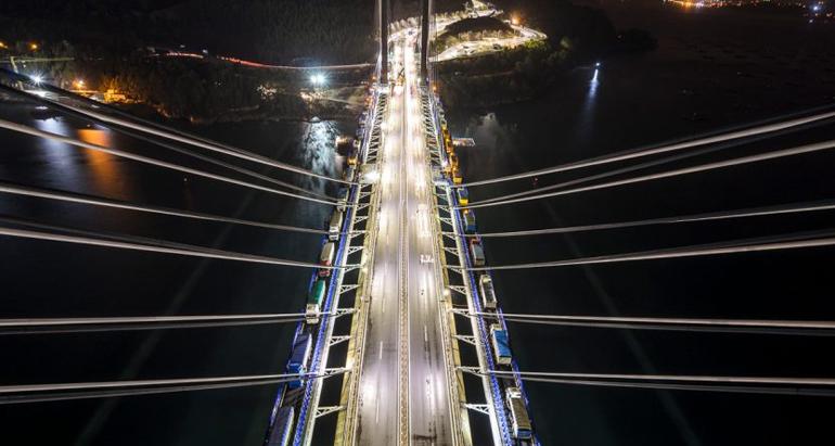 Typsa diseña la ampliación del Puente de Rande en la Ría de Vigo