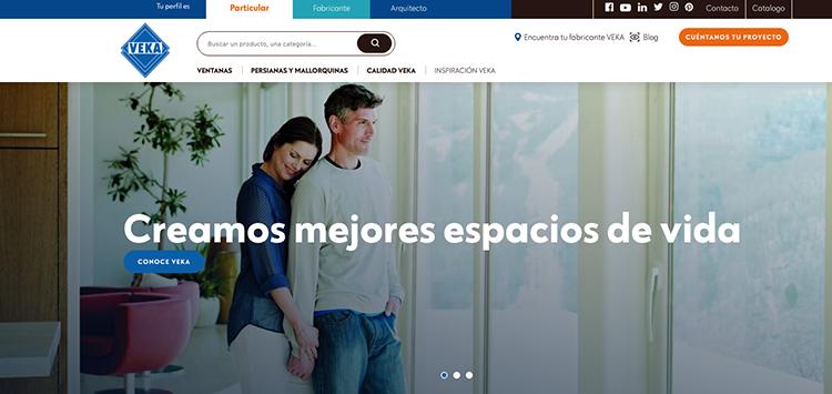 Veka Ibérica estrena una web más funcional