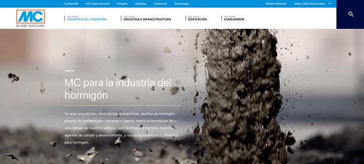 La nueva web de MC Spain incluye mayor información sobre sus divisiones